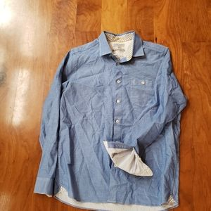 TED BAKER SIZE 5 BUTTON DOWN SHIRT FLIP CUGGS